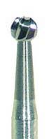 Фреза для турбинного наконечника шарик 1 мм (обработка стержневых мозолей)