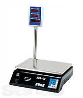 Весы торговые со стойкой электронные 40 кг.