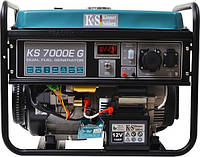 Генератор газ/бензин Konner&Sohnen  KS 7000Е G