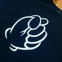 Образец печати на свитшоте