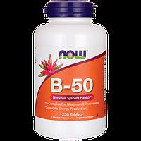 В-50, 50 мг, Now Foods,  250 Капсул