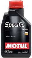 Моторное масло Motul SPECIFIC 0720 5W-30, 1L