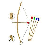 Лук детский  бамбуковый ,1000мм ,капроновая нить