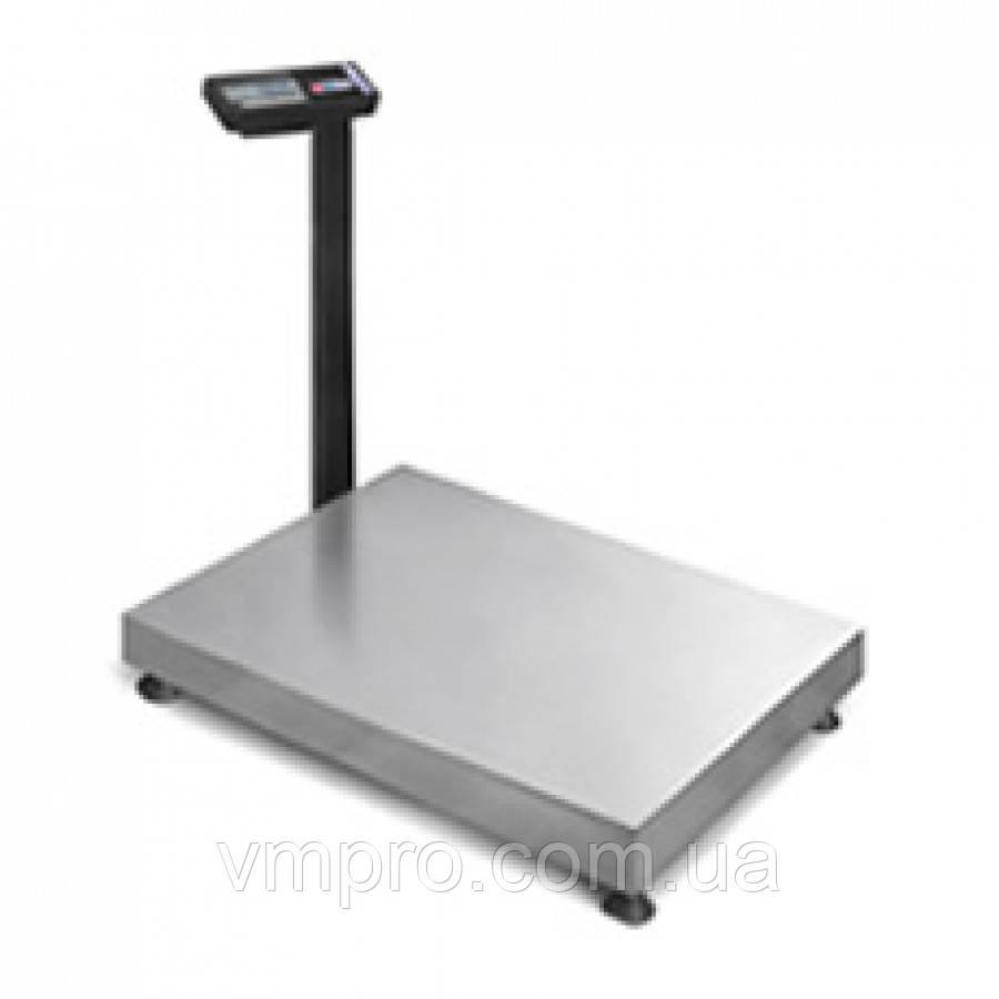 Весы торговые со стойкой 500 кг. платформа 60×80