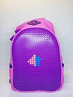 Ранец для дошкольников сиреневый