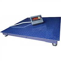 Весы торговые 1 тонна. платформа 120×120