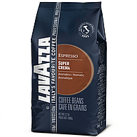 Lavazza Super Crema Кофе 1кг. ЗЕРНО