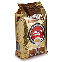 Lavazza Qualita Oro Кофе 1кг. ЗЕРНО