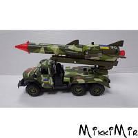 ЗИЛ-131, Вооруженные силы с ракетой (свет, звук), Автомодель, Technopark