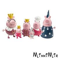 Королевская семья, 6 фигурок, серия Принцесса. Peppa