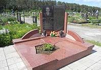 Плитка на кладбище для могилы памятника
