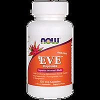 Витамины для женщин EVE, без железа, Now Foods, 120 капсул