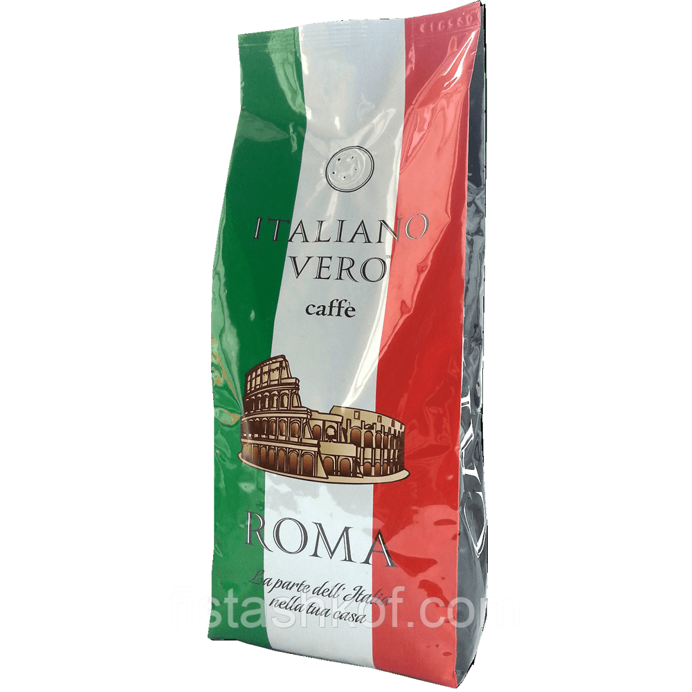 Italiano Vero Roma Кофе  1кг. ЗЕРНО