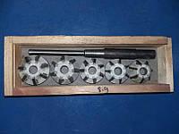 Набор зенковок для ремонта клапанов двигателей всех марок авто
