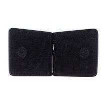Зажим для купюр мужской кожаный Demour SW1169 черный, фото 2