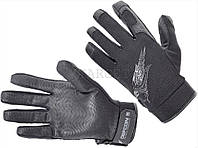 Перчатки Defcon 5 SHOOTING GLOVES WITH LEATHER PALM BLACK L ц:black
