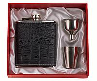 Набор подарочный с флягой F3-508-(7oz) для алкогольных и безалкогольных напитков