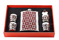 Набор подарочный с флягой F3-393-(8oz) для алкогольных и безалкогольных напитков