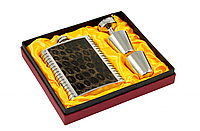 Набор подарочный с флягой F3-9-(8oz) для алкогольных и безалкогольных напитков