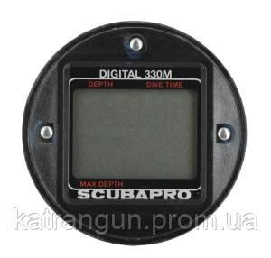 Цифровой глубиномер дайвера Scubapro Digital 330, капсула - Магазин подводного снаряжения KatranGun — подводная охота, дайвинг, плавание, бассейн, обучение ПО в Киеве