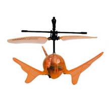 Радиоуправляемая модель «Auldey» (YW859110-3) летающий шар Aero Spin на ИК управлении (оранжевый, подсветка)