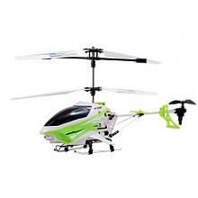 Радиоуправляемая модель «Auldey» (YW858403) вертолет Exploiter S на ИК управлении, 40 см (зеленый, гироскоп, 3 канала)