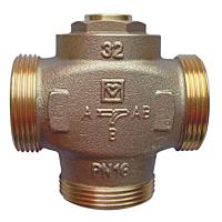 Трехходовой термосмесительный клапан HERZ Teplomix DN 32, 60°C