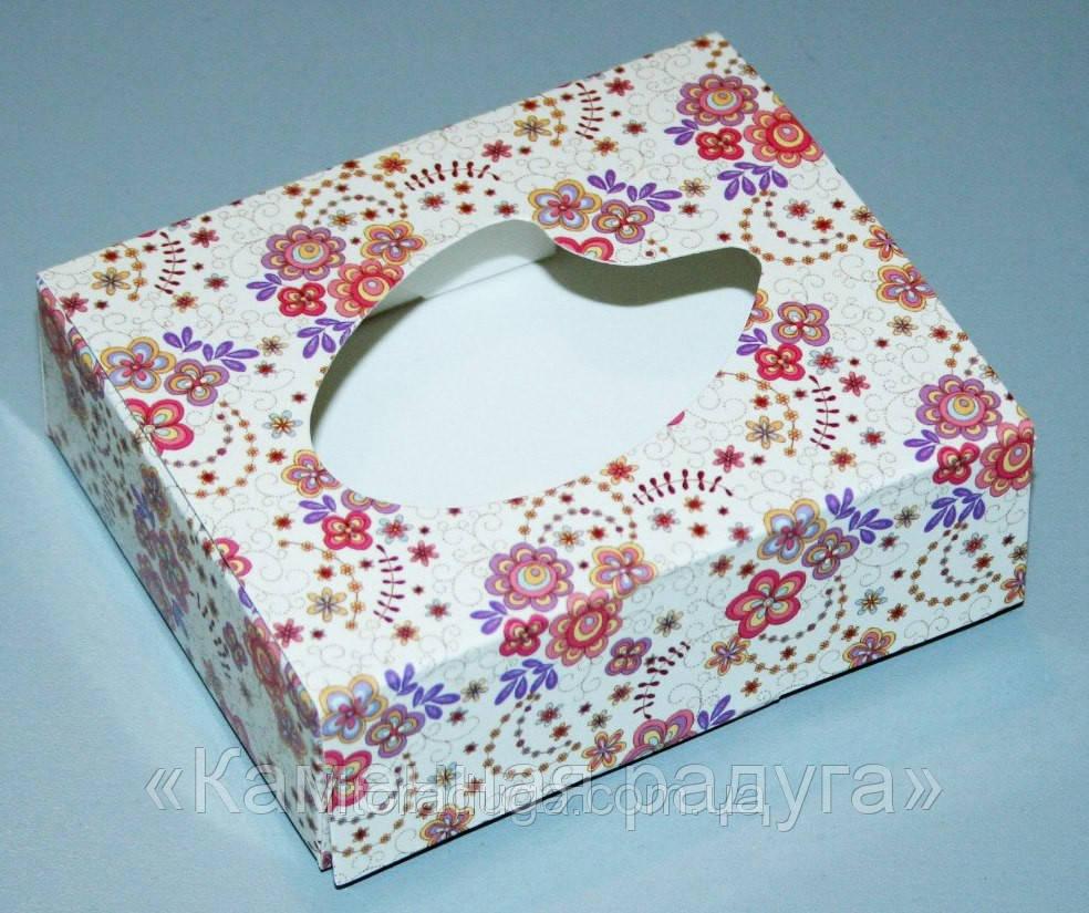"""Коробка """"Узоры"""" (прямоугольная большая)"""