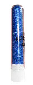 Блестки mART 18 синие голографические крупные