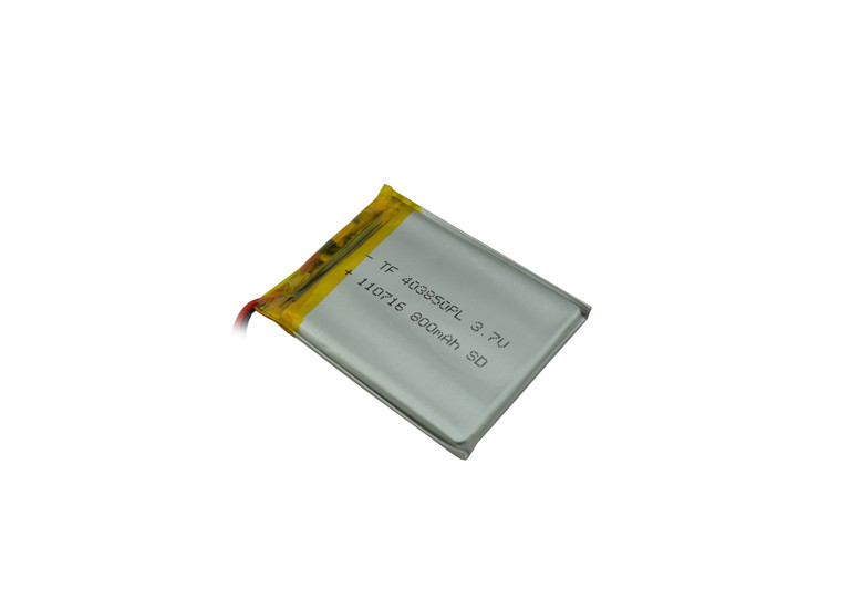Аккумулятор литий-полимерный 3,7V 800mAh