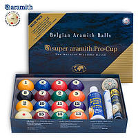 Шары Super Aramith Pro-Cup Value Pack Pool 57,2мм