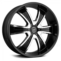 Диск AMERICAN RACING AR894 Gloss Black with Machined Face (R20x8.5 PCD5x114.3/127 ET35 HUB72.6)