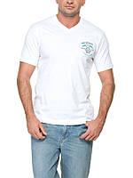 Мужская футболка LC Waikiki белого цвета с надписью SouthWest