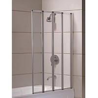 Шторка на ванну Eger 599-110 прозора 89*140