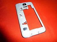 Корпус / средняя часть корпуса Samsung S5 / G900F белый