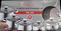 Набор кухонной посуды Bachmayer BM-1202, 12 предметов