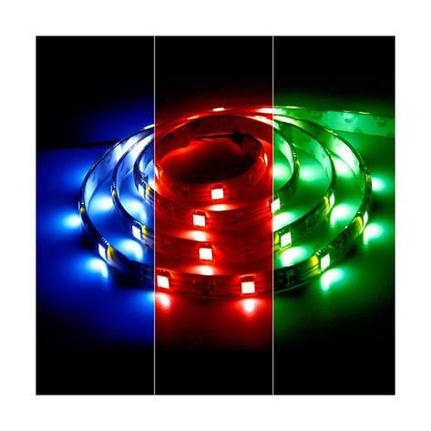 Светодиодная лента 12в в силиконе - Feron LS607 RGB 5050 60шт/м 14.4Вт, фото 2