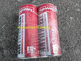 Антифриз HighWay ANTIFREEZE-40 LONG LIFE G12+ (червоний) 1кг виробник Дельфін, Росія