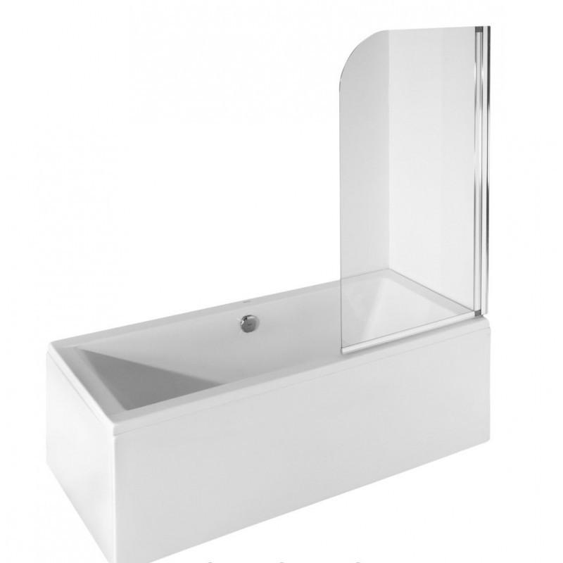 Шторка для ванни PMD Ambition -1S 75х130 хром