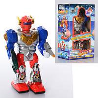 Робот, передвигающийся, музыкальный, световой, на батарейках, в коробке, 12-21,5-8 см