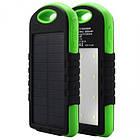 Зовнішній акумулятор на сонячній батареї Solar Power Bank 10800 mAh + 12 LED, фото 2