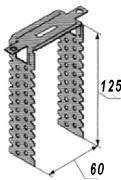 Прямой подвес для CD проф. 125мм универс 0,8мм