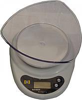 Весы кухонные с чашей Oxi 3 кг.
