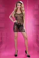 Сексуальное платье-сетка Berdine LC