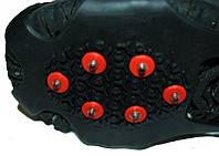Ледоступы, накладки на обувь против скольжения на 10 шипов