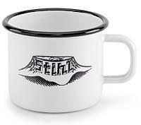 Чашка ретро Stihl металлическая, эмаль