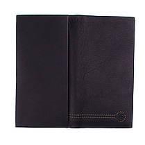 Купюрник кожаный мужской Eremette 22505 черный, фото 3
