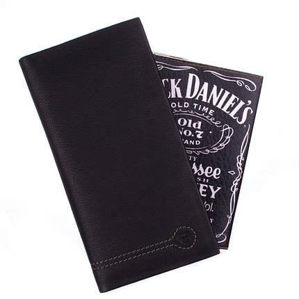 Купюрник кожаный мужской Eremette 22505 черный, фото 2