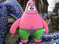Мягкая игрушка - подушка ручной работы Патрик Стар из мультсериала Губка Боб квадратные штаны
