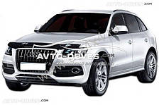 Дефлектор на капот (мухобойка) для Audi Q5